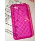 Grid TPU Protective Case for iPhone 4 and 4S (Assorted Colors)