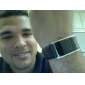 Unisex Red LED Digital Black PU Band Wrist Watch Cool Watch Unique Watch