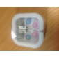 Headphone 3.5mm In Ear With Microphone Stereo for iPhone 6/iPhone 6 Plus (White)