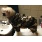 Cães Calças / Roupa / vestuário Verde Inverno camuflagem