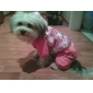 Étoiles brillent capuche Manteau style avec un pantalon pour chiens (couleurs assorties, S-XL)