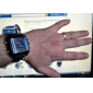 PU analogique hommes weide® - montre plusieurs mouvements du poignet numérique (noir)