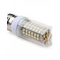 Светодиодная лампа-кукуруза E27 5 Вт 96x3528 SMD 250-300 лм 2800-3300 K теплый белый свет (220-240 В)