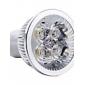 4W GU10 Точечное LED освещение 4 Высокомощный LED 350-400 lm Тёплый белый 3000K К Декоративная AC 85-265 V