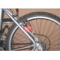 Велосипедные фары колесные огни Колесные огни Светодиодная лампа Велоспорт Батарейки таблеточного типа AG10 Люмен Батарея Велосипедный