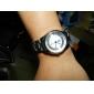 여성의 합금 아날로그 기계식 손목 시계 (실버)