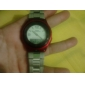 Unisex's Multi-Functional Style Alloy Automatic Analog-Digital Wrist Watch (Silver)