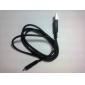 Micro USB синхронизации данных и зарядное устройство кабель для Samsung Galaxy телефонов и других мобильных телефонов (черный, 76.5cm)