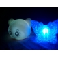 Cute Panda Shaped Colorful Light LED Night Lamp (3xLR44)