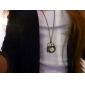 Unisex Owl Style Alloy Analog Quartz Keychain Necklace Watch (Bronze) Cool Watches Unique Watches