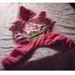 Собака Толстовки Одежда для собак Вышивка Розовый