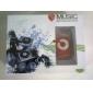 мини-штекер зажим-в микро-SD TF кард-ридер MP3 Music Player - тускло-красным