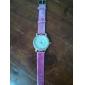 여성의 심장 모양 디자인 PU 아날로그 석영 손목 시계 (여러 색)