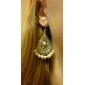 lureme®waterdrop motif boucles d'oreilles suspendus