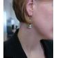 빈티지 스커트 모양의 합금 귀걸이
