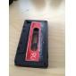 Case Cassete para iPhone 4(Preto)