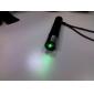 lanterna ponteiro laser verde em forma com a bateria (5mW 532nm, preto, 1x16340)