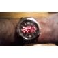 Orologio analogico, digitale, quadrante nero WH-1009