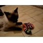 Cat Pet Toys Catnip Snake Black Textile