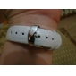 아가씨들 패션 시계 석영 일본 쿼츠 캐쥬얼 시계 가죽 밴드 화이트 상표