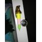 개폐식 수류탄 모양의 검은 색 잉크 젤 펜 (여러 색)