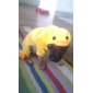Duck Shaped Soft Hoodie Costume for Dogs (XS-XL, Yellow)