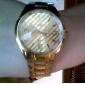 Мужской спортивный дизайн сплава аналогового кварцевые наручные часы (разных цветов)