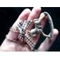 Деревянное ожерелье Vintage Лошадь