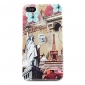 Statue of Liberty Pattern Case for iPhone 4 and 4S (Multi-Color)
