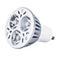 3W GU10 Faretti LED MR16 3 LED ad alta intesità 300-350 lm Luce fredda K AC 85-265 V