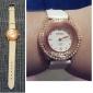 pu mulheres analógico relógio de pulso de quartzo (cores sortidas)