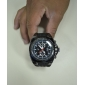V6® Men's Military Style Black Dial Silicone Band Quartz Wrist Watch Cool Watch Unique Watch