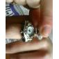 Женские Модные часы Кварцевый Группа Винтаж Серебристый металл бренд-