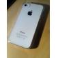 cubierta posterior fina fina transparente para iphone 4 / 4s protectores de iphone