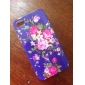 Flower Pattern Style Back Case for iPhone 4 and 4S (Assorted Colors)