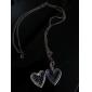 Hollow Peach Heart Necklace