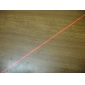 Stainless Steel Straight Line Red Laser Pointer (5mW, 2xAAA)