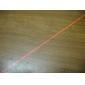 aço inoxidável reta linha vermelha ponteiro laser (5mW, 2xAAA)