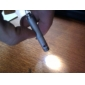 chaveiro em forma de ponteiro de laser liga de alumínio 0,5mw 635nm-670nm para o exterior 5.4 * 0.9 * 0.9cm