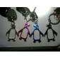 pingouin porte-clés en forme de bouteille ouvreur (couleur aléatoire)