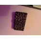 Leopard Pattern PU Leather Case med stativ for Samsung Galaxy S3 I9300 (Assorterte farger)