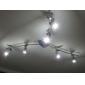 3W GU10 Lâmpadas de Foco de LED MR16 3 leds LED de Alta Potência 300-350lm Branco Natural Regulável AC 220-240