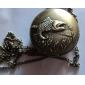 Homme Montre de Poche Quartz Alliage Bande rétro Bronze