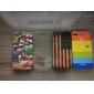 t-shirt estilo maçante caso polonês para o iphone 4 e 4S (cores sortidas)