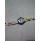 детский цветок стиль силиконовый аналоговые кварцевые наручные часы с мигающими привело свет (белый)