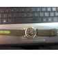 Masculino Relógio de Pulso Quartzo Tecido Banda Verde