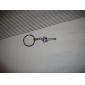 מחזיקי מפתחות שרשרת מפתחות תכשיטים סגסוגת אופנתי יום הולדת יומי קזו'אל גברים