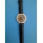 아가씨들 패션 시계 석영 가죽 밴드 스파클 레오파드 블랙 화이트 블루 레드 브라운 퍼플 로즈