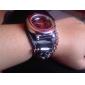 Men's Punk Style Skull Pattern Black PU Band Quartz Wrist Watch (Assorted Colors) Cool Watch Unique Watch