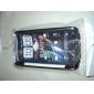 матовой сетки жесткий футляр для HTC ощущение g14 (разных цветов)